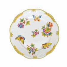 Herend VBO - Queen Victoria Full Decoration Dessert Plate